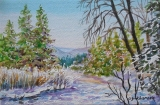 Olga Zakharova Art - Landscape - Winter Time 3