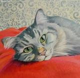 Olga Zakharova Art - Animals - Cat