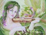 Olga Zakharova Art - Portrait - Spring Melody