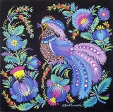 Olga Zakharova Art - Folk Art - Blue Bird