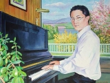 Olga Zakharova Art - Portrait - Anthony at the Piano