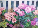 Olga Zakharova Art - Floral - Rhododendron's Festival