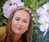 Olga Zakharova Art - Portrait - Spring Blooming