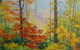 Olga Zakharova Art - Landscape - Season's Colors