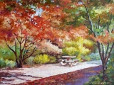 Olga Zakharova Art - Landscape - Waiting for the Picnic