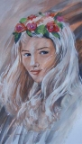 Olga Zakharova Art - Portrait - The Girl