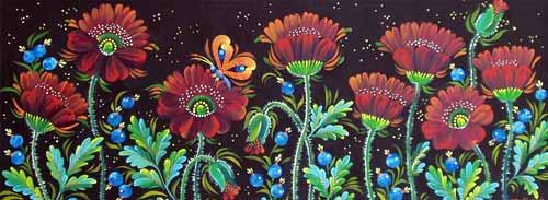 Decorative Poppies