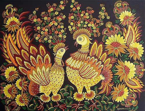 Golden Hens