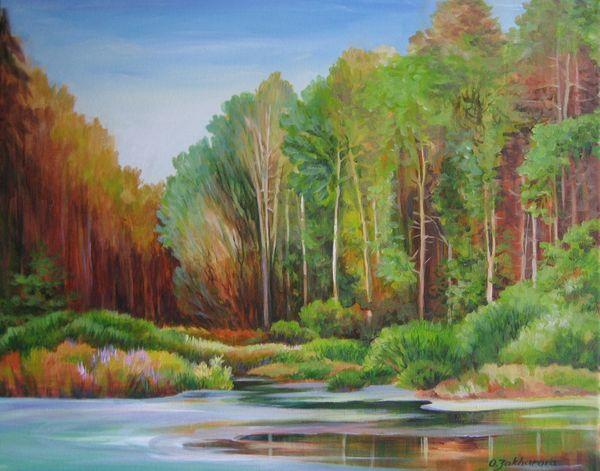Verdurous Pond